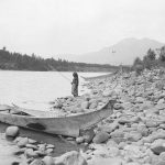first_nations_girl_fishing_on_the_skeena_river_1915